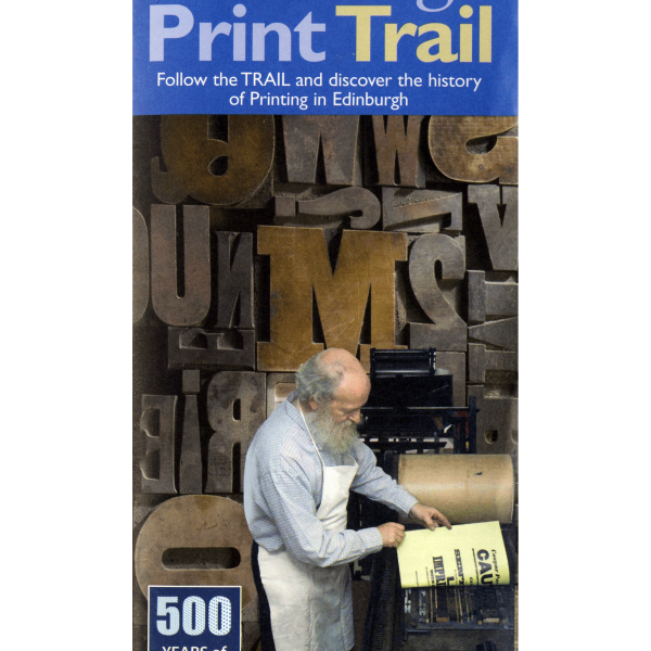 Edinburgh Print Trail leaflet